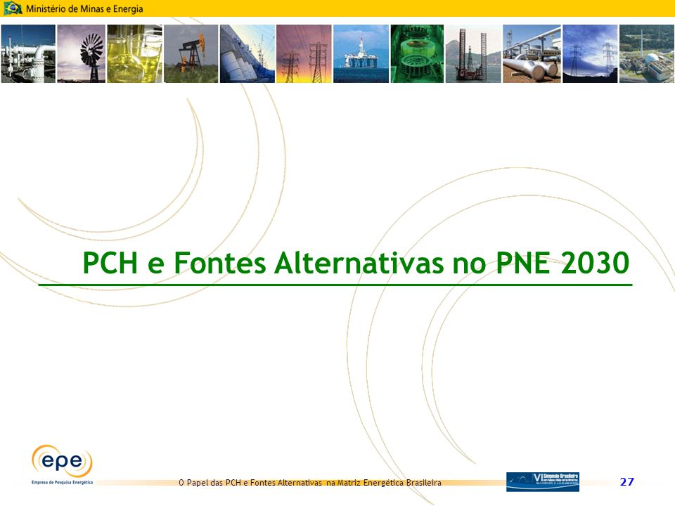 PCH e Fontes Alternativas no PNE 2030
