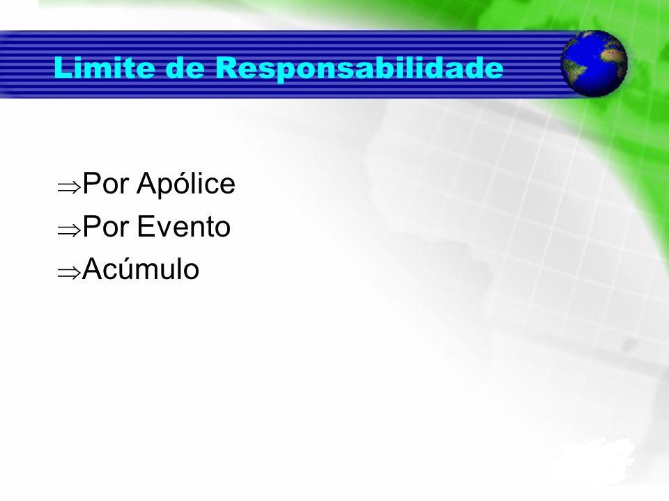 Limite de Responsabilidade