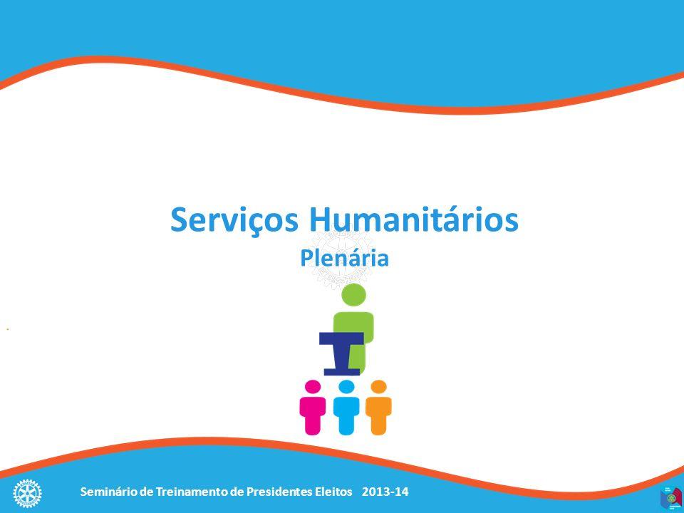 Serviços Humanitários Plenária