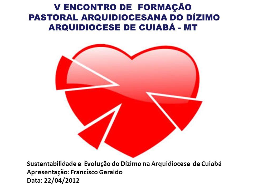 Sustentabilidade e Evolução do Dízimo na Arquidiocese de Cuiabá