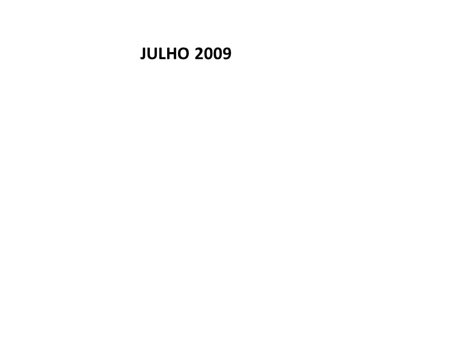 JULHO 2009