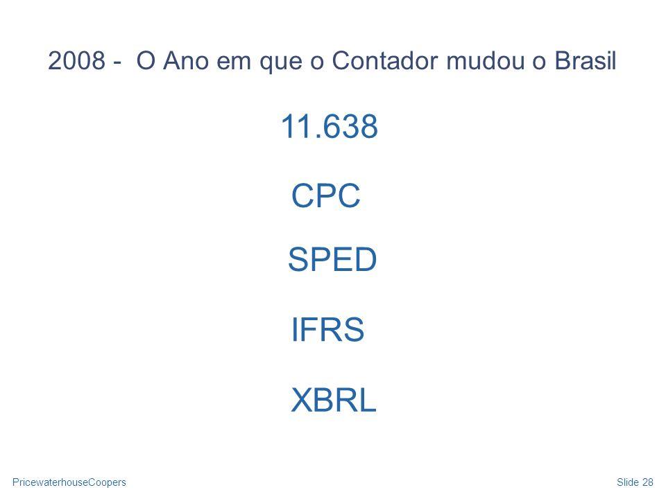 2008 - O Ano em que o Contador mudou o Brasil