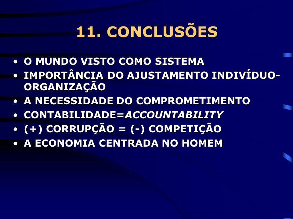 11. CONCLUSÕES O MUNDO VISTO COMO SISTEMA