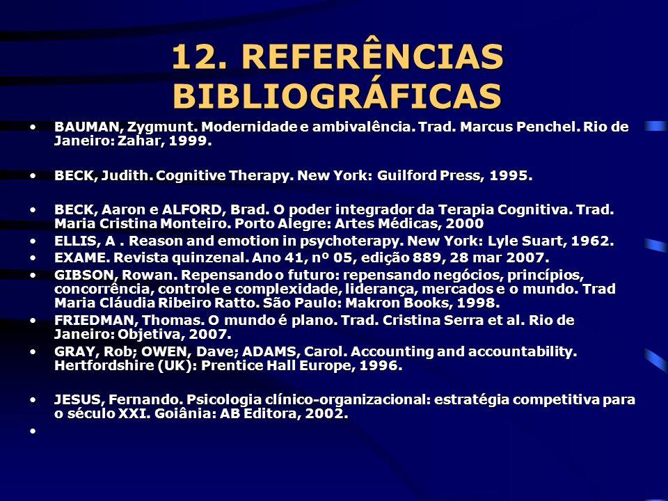 12. REFERÊNCIAS BIBLIOGRÁFICAS