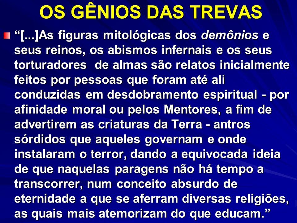 OS GÊNIOS DAS TREVAS