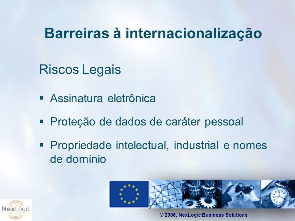 Barreiras à internacionalização