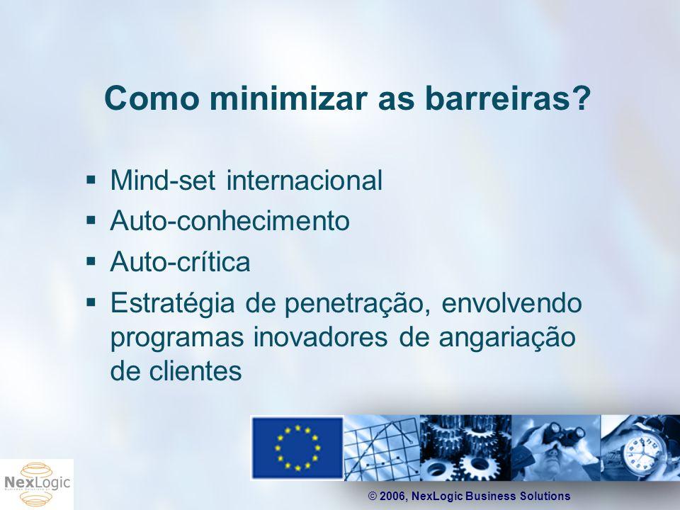Como minimizar as barreiras