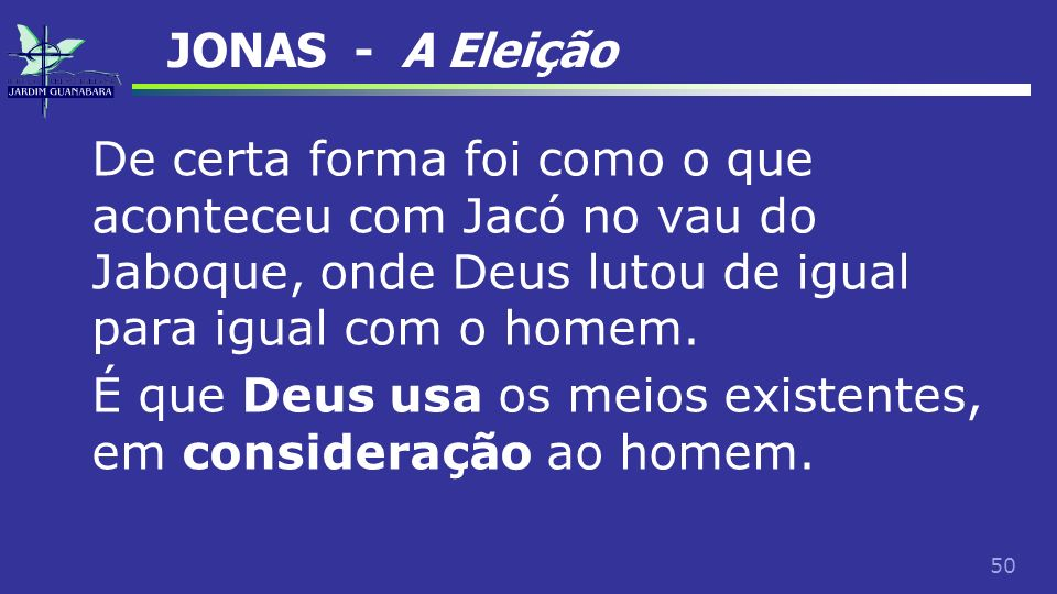 JONAS - A Eleição