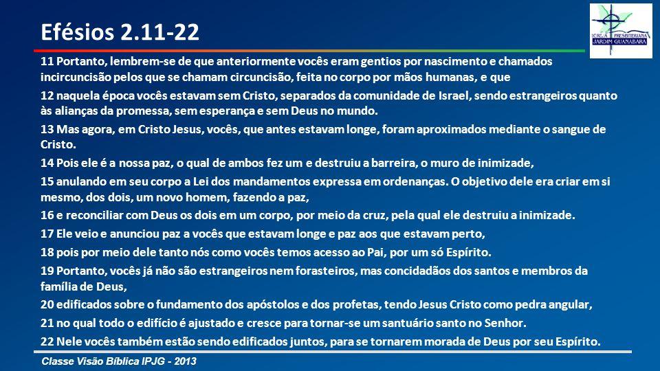 Efésios 2.11-22
