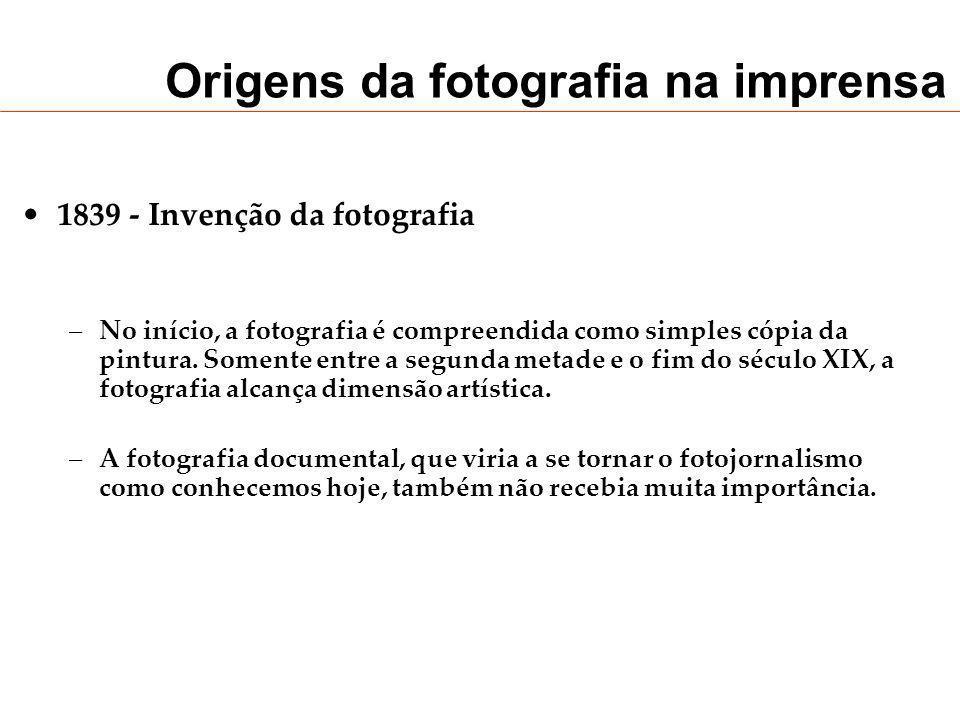 Origens da fotografia na imprensa