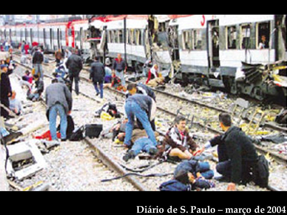 Diário de S. Paulo – março de 2004