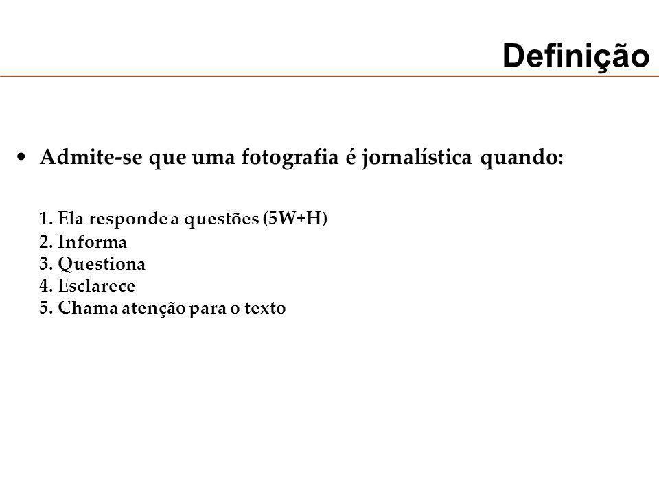 Definição 1. Ela responde a questões (5W+H)