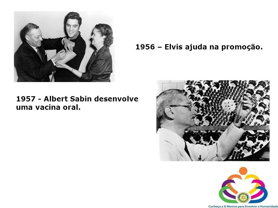 1956 – Elvis ajuda na promoção.