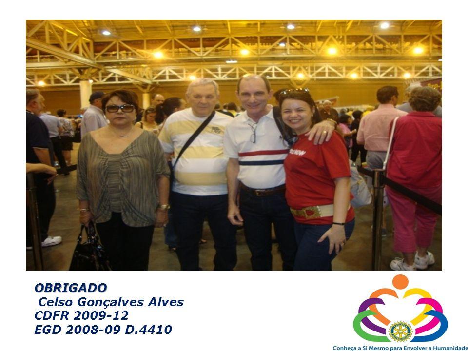 OBRIGADO Celso Gonçalves Alves CDFR 2009-12 EGD 2008-09 D.4410