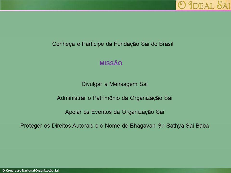 Conheça e Participe da Fundação Sai do Brasil