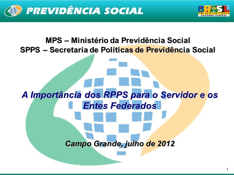 A Importância dos RPPS para o Servidor e os Entes Federados