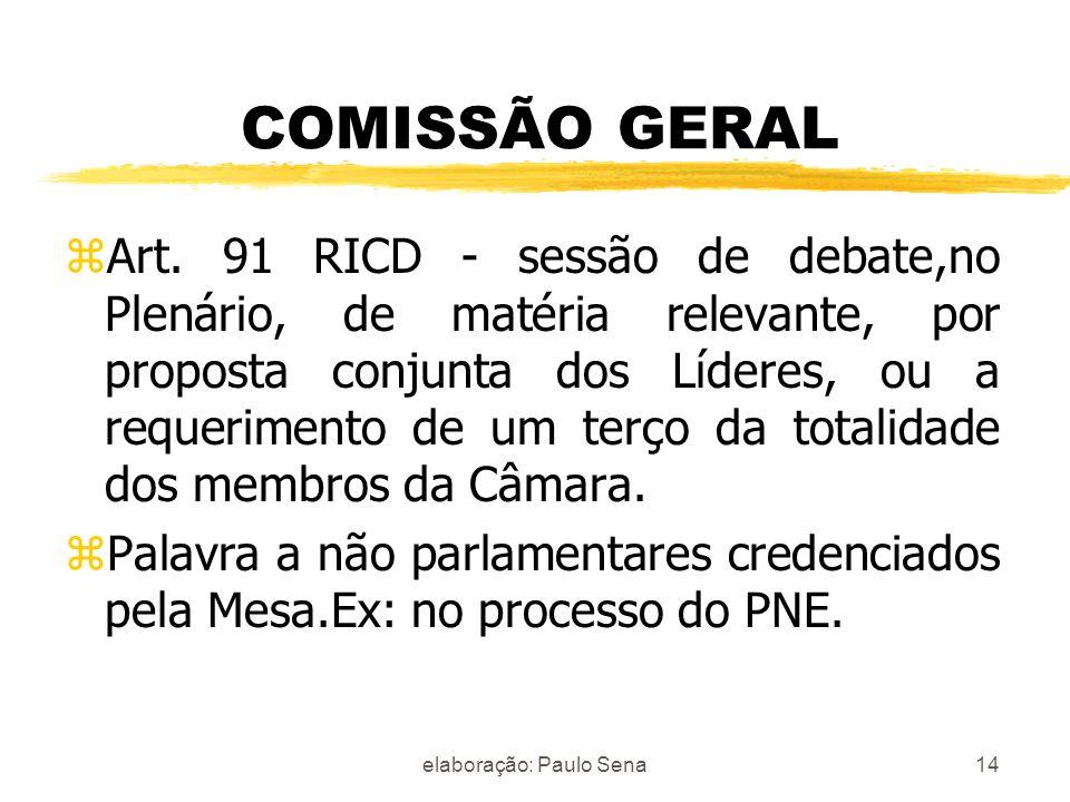 elaboração: Paulo Sena