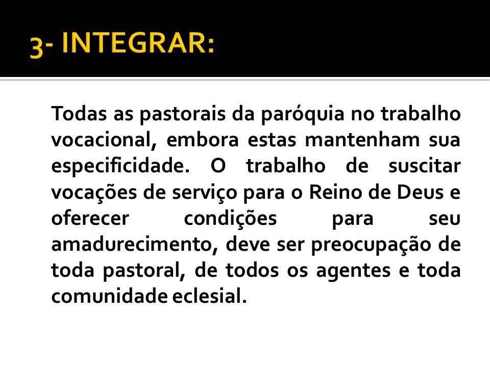3- INTEGRAR: