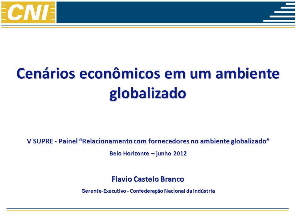 Cenários econômicos em um ambiente globalizado