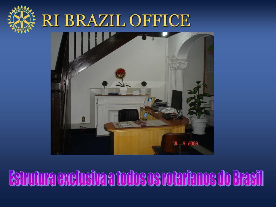 Estrutura exclusiva a todos os rotarianos do Brasil