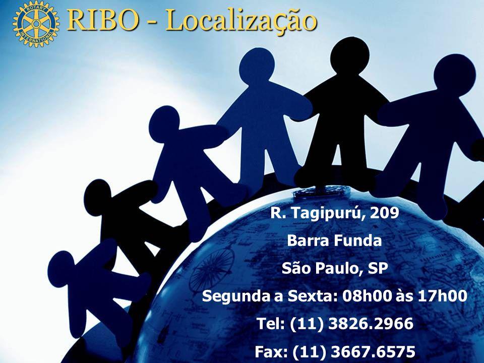 RIBO - Localização R. Tagipurú, 209 Barra Funda São Paulo, SP