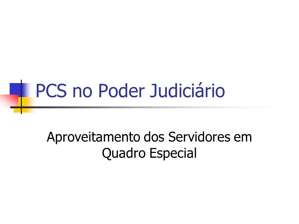 PCS no Poder Judiciário