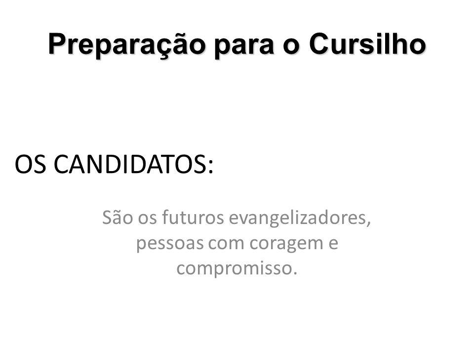 São os futuros evangelizadores, pessoas com coragem e compromisso.