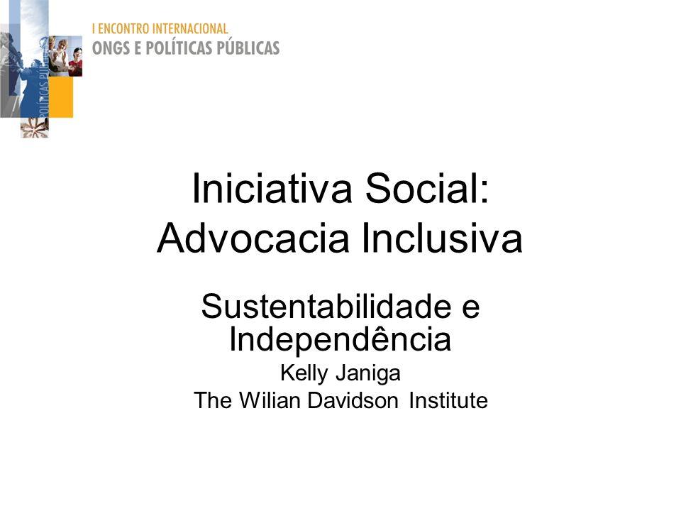 Iniciativa Social: Advocacia Inclusiva