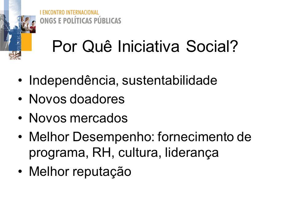 Por Quê Iniciativa Social