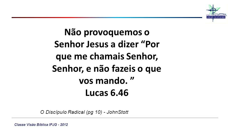 O Discípulo Radical (pg 10) - JohnStott