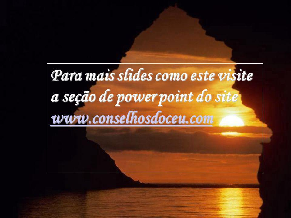Para mais slides como este visite a seção de power point do site www