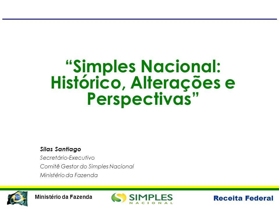 Simples Nacional: Histórico, Alterações e Perspectivas