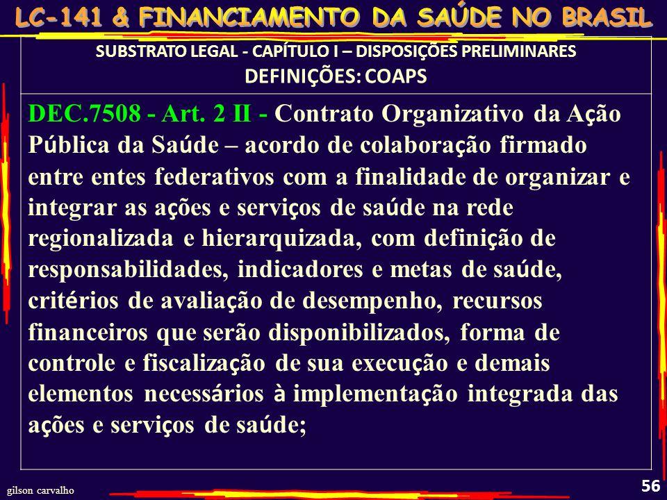 SUBSTRATO LEGAL - CAPÍTULO I – DISPOSIÇÕES PRELIMINARES
