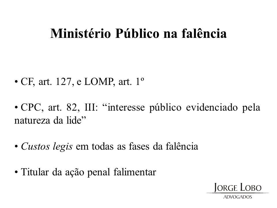 Ministério Público na falência