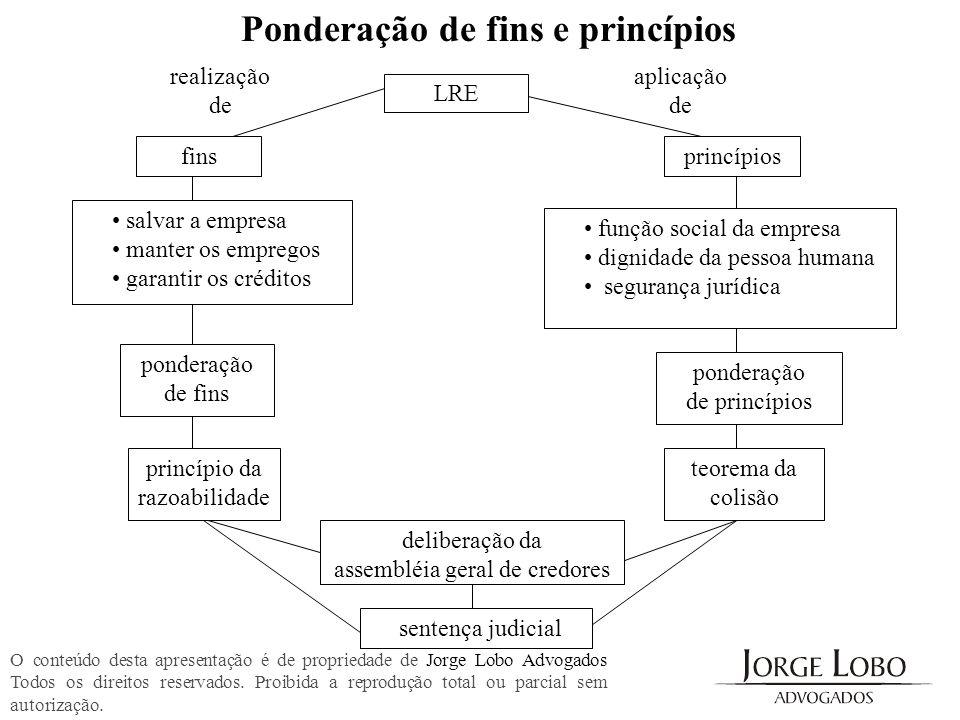 Ponderação de fins e princípios
