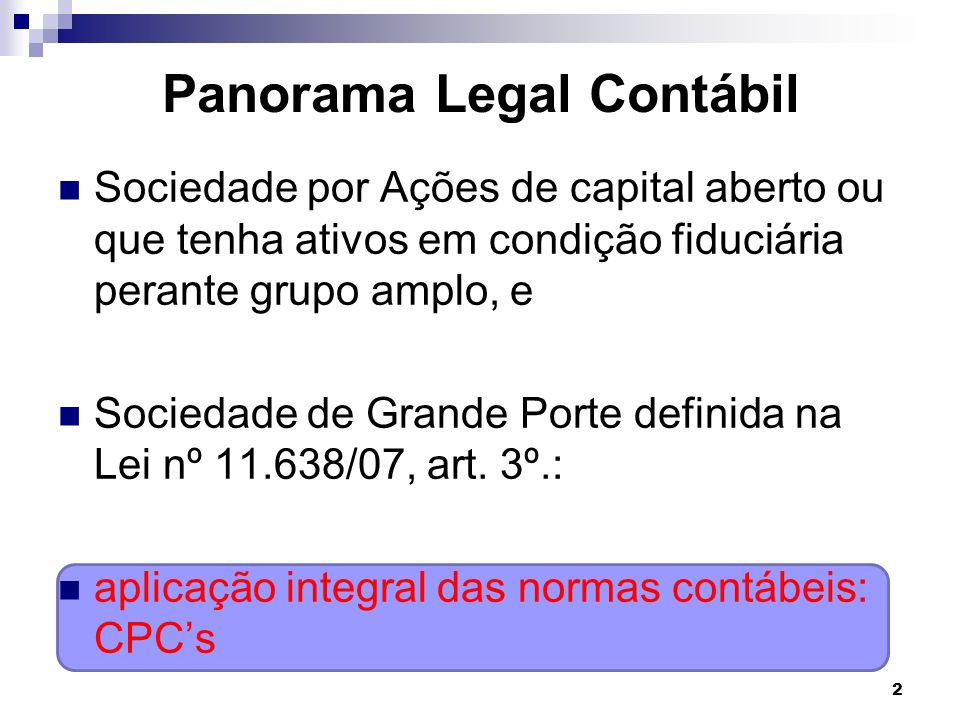 Panorama Legal Contábil