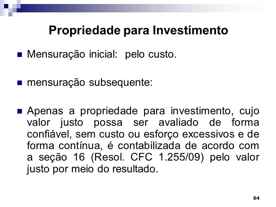 Propriedade para Investimento