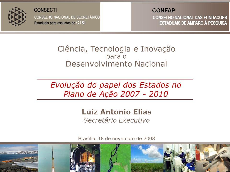 Ciência, Tecnologia e Inovação Desenvolvimento Nacional