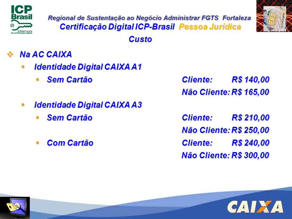 Certificação Digital ICP-Brasil Pessoa Jurídica