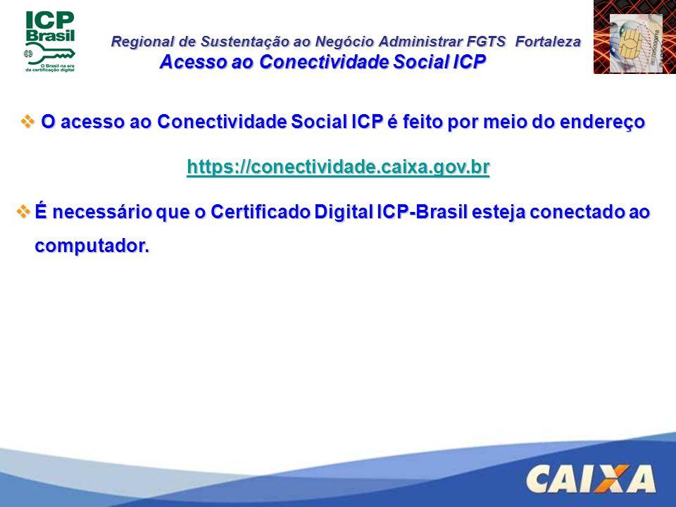 Acesso ao Conectividade Social ICP