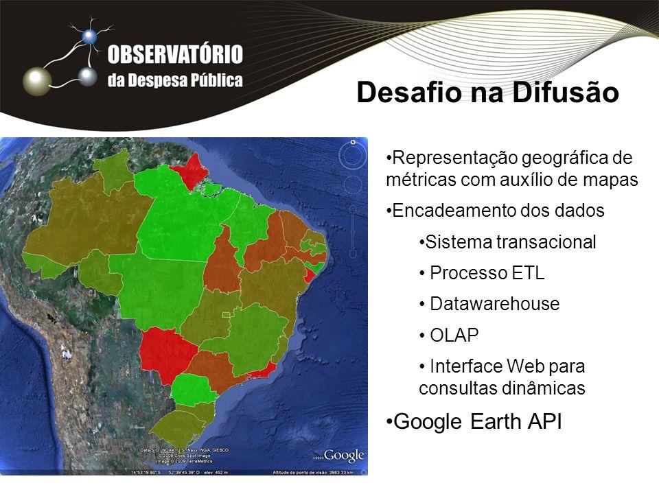 Desafio na Difusão Google Earth API