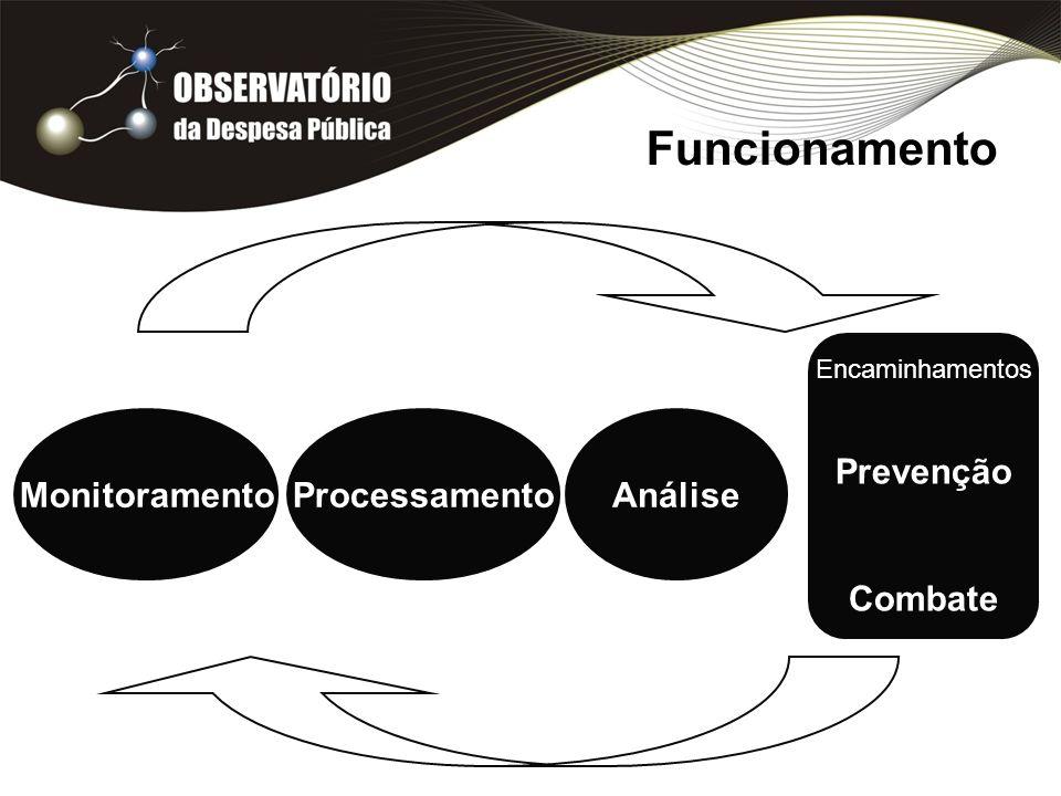 Funcionamento Prevenção Combate Monitoramento Processamento Análise
