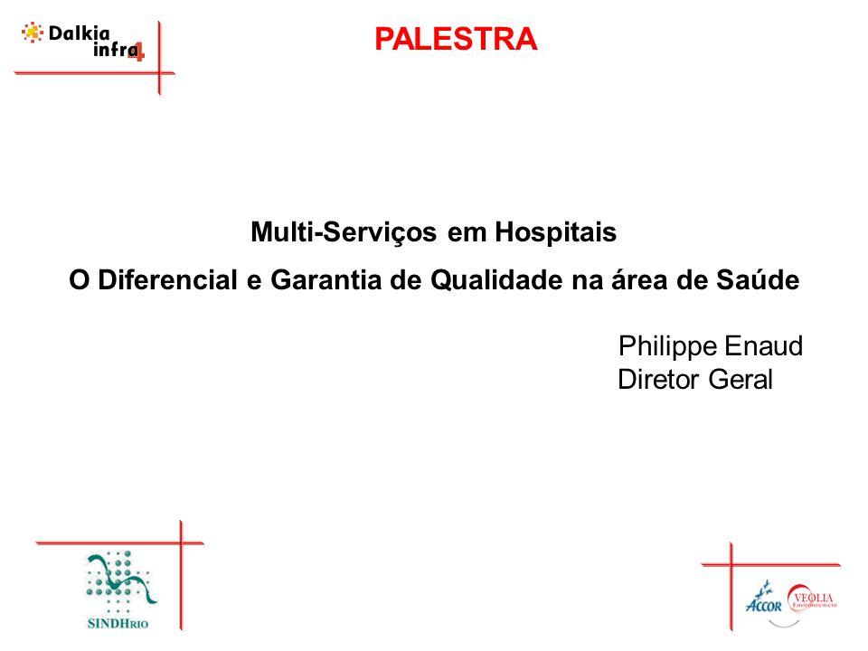 PALESTRA Multi-Serviços em Hospitais