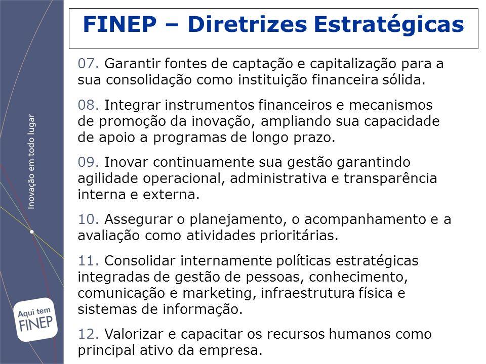 FINEP – Diretrizes Estratégicas