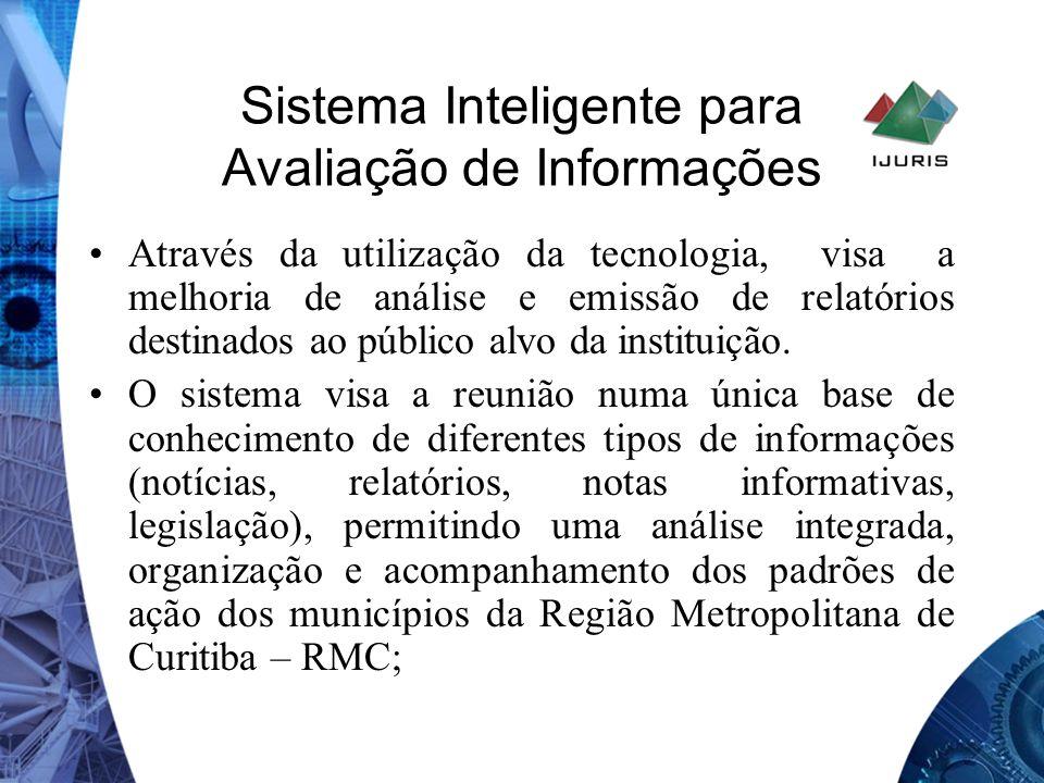 Sistema Inteligente para Avaliação de Informações