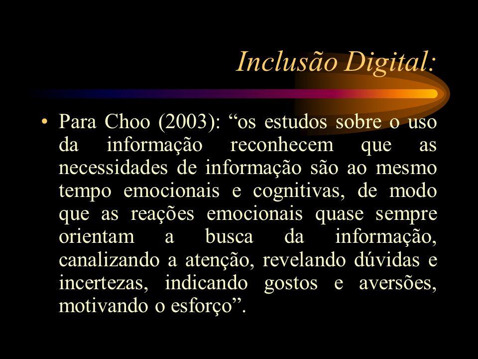 Inclusão Digital: