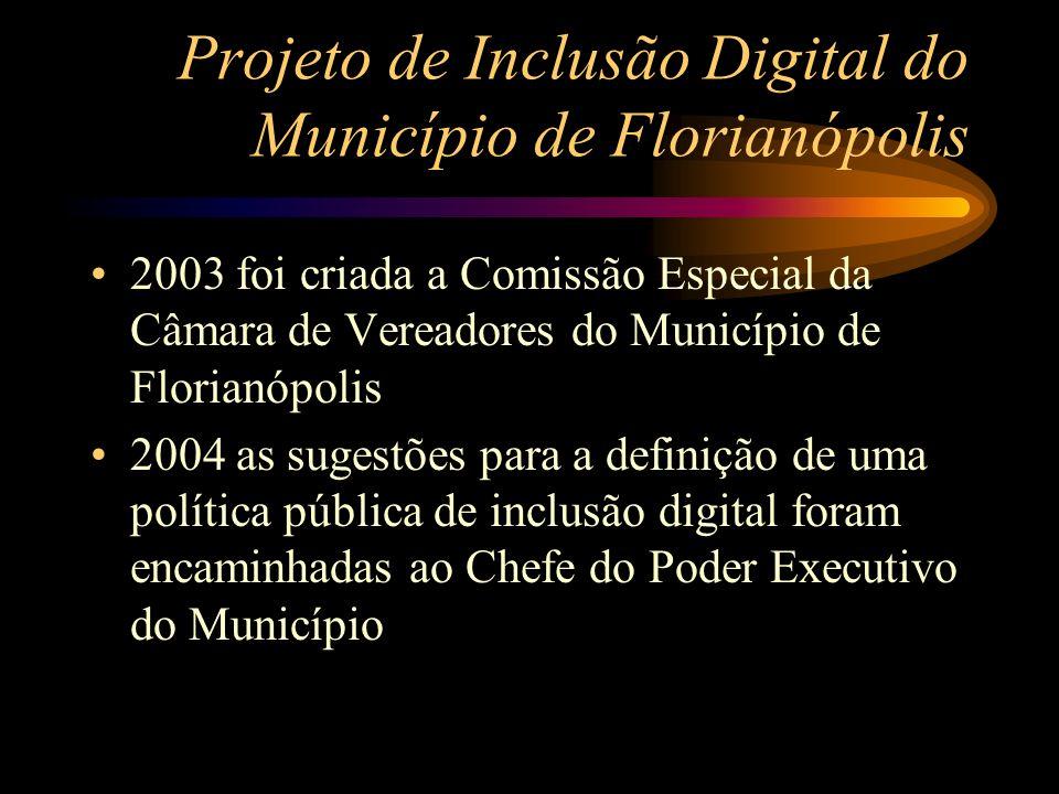 Projeto de Inclusão Digital do Município de Florianópolis