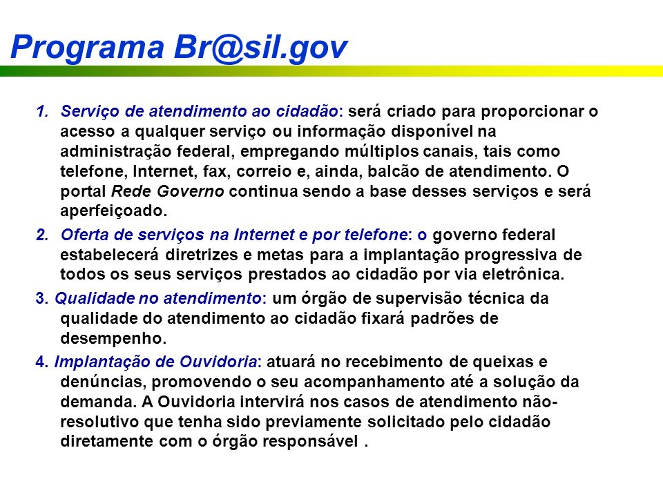 Programa Br@sil.gov