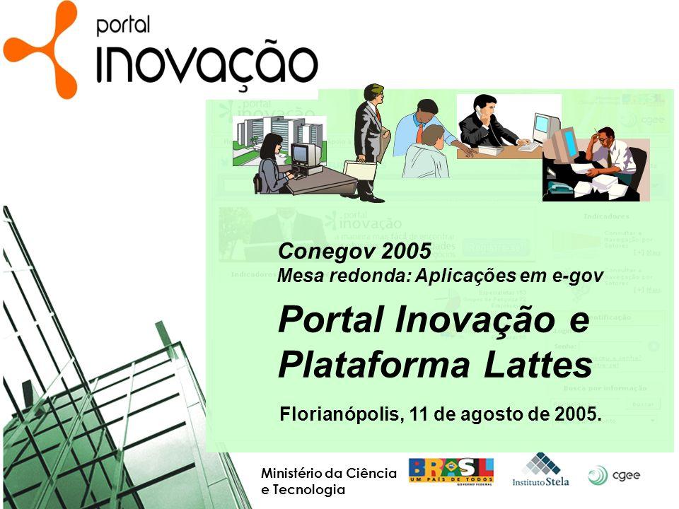 Portal Inovação e Plataforma Lattes