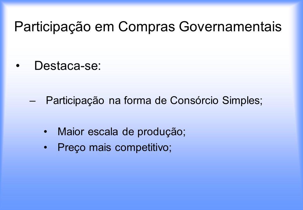 Participação em Compras Governamentais